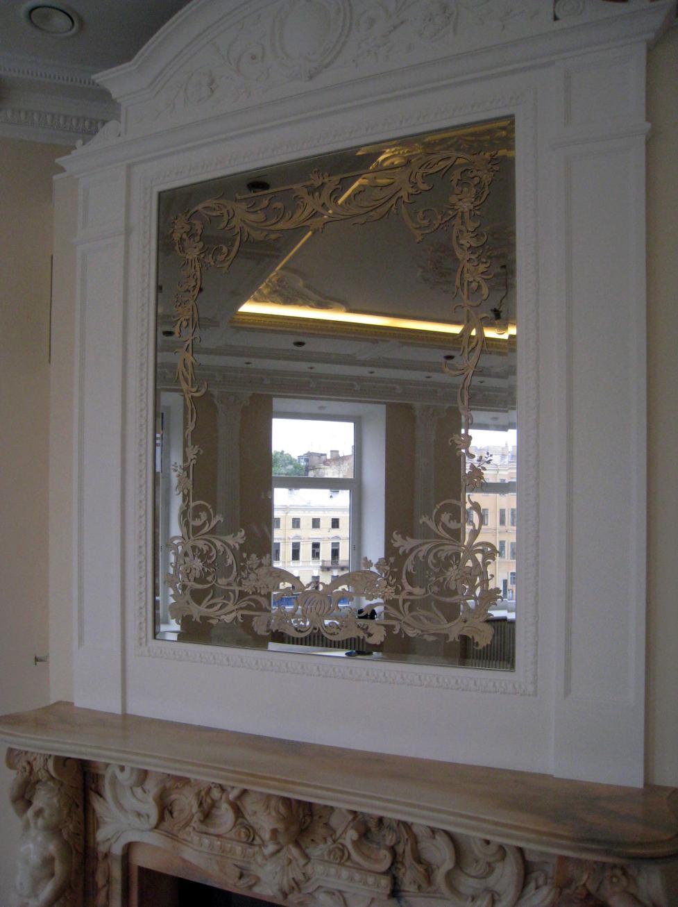 Зеркало для камина