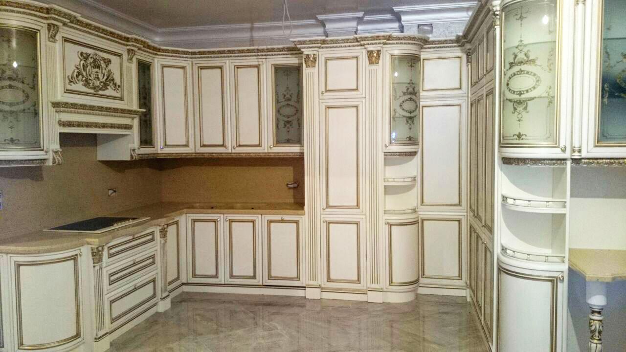 Витражи на кухонных фасадах